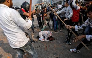 Riots in Delhi over India's citizenship law ahead of Trump's arrival