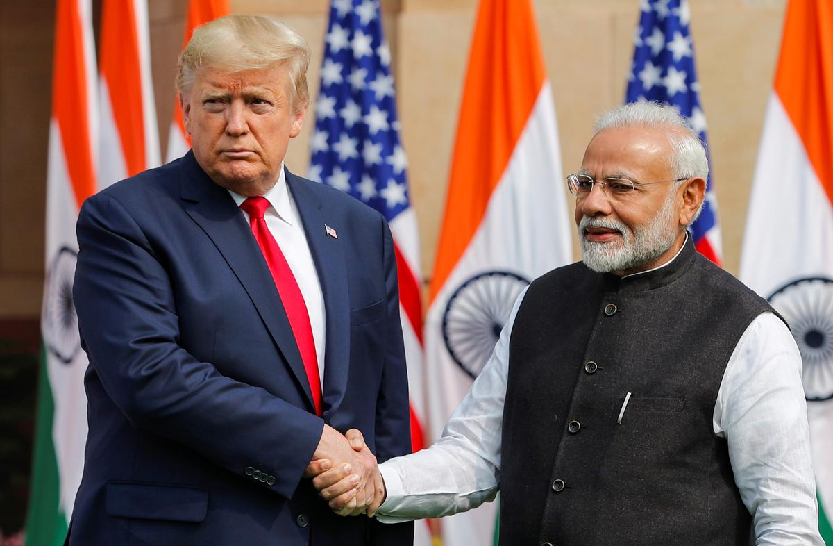 After raucous welcome in India, Trump clinches $3 billion military equipment sale