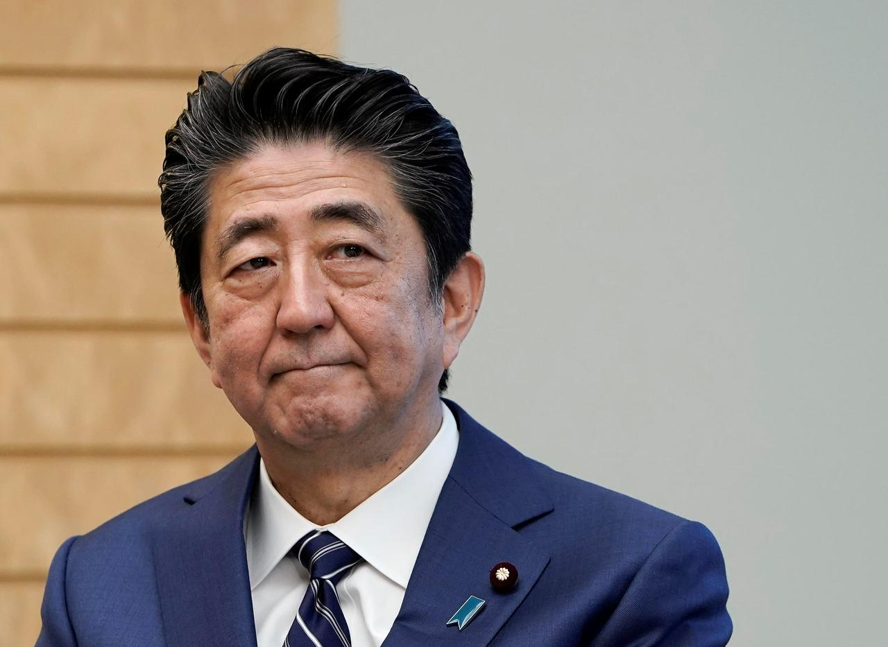 JAPANESE PM ABE RESIGNS DUE TO WORSENING HEALTH