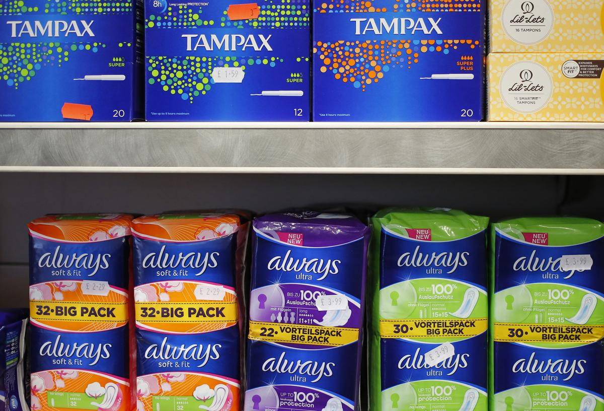 Scotland to approve free sanitary products for all women
