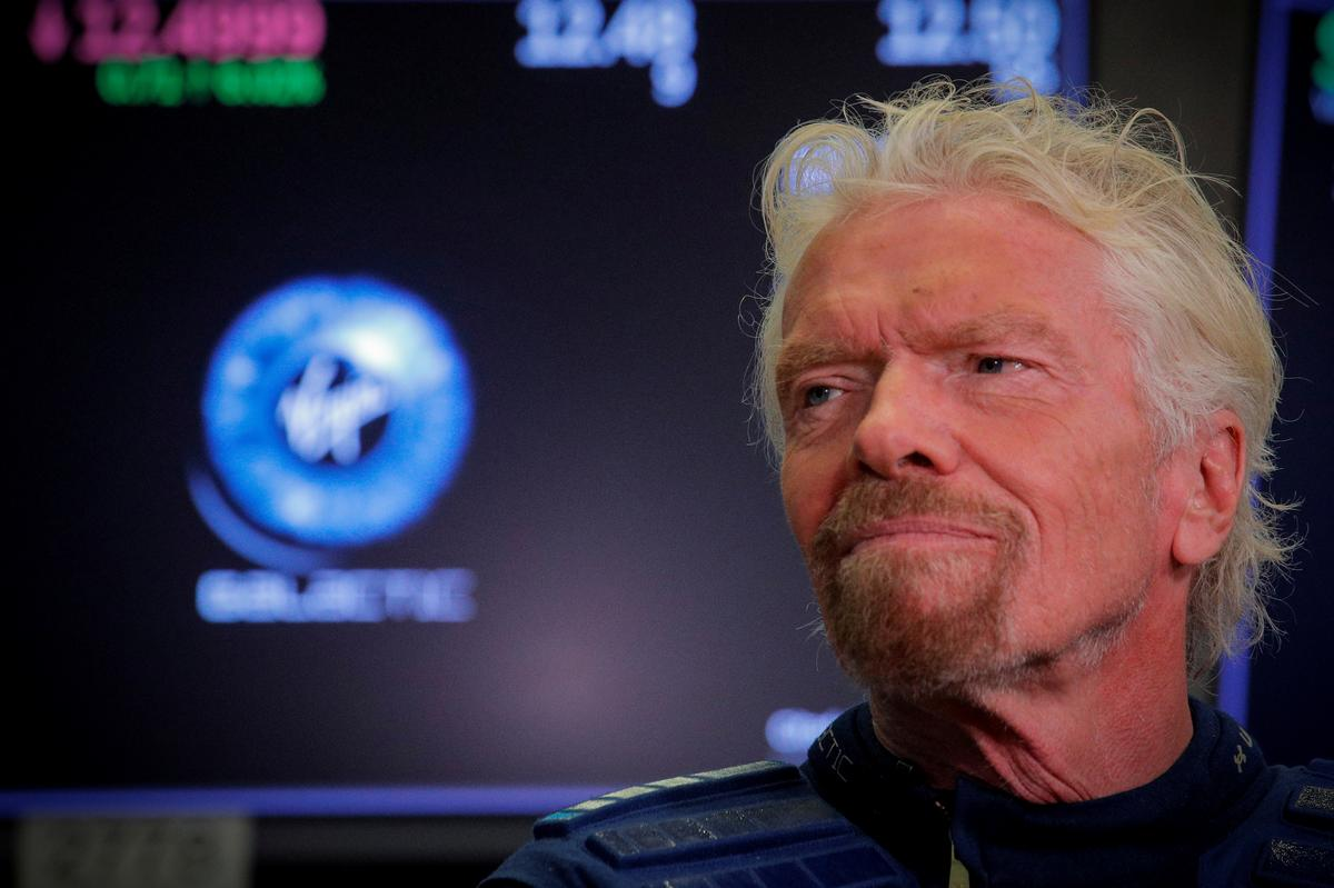 In first public results, Branson's Virgin Galactic posts $73 million quarterly loss