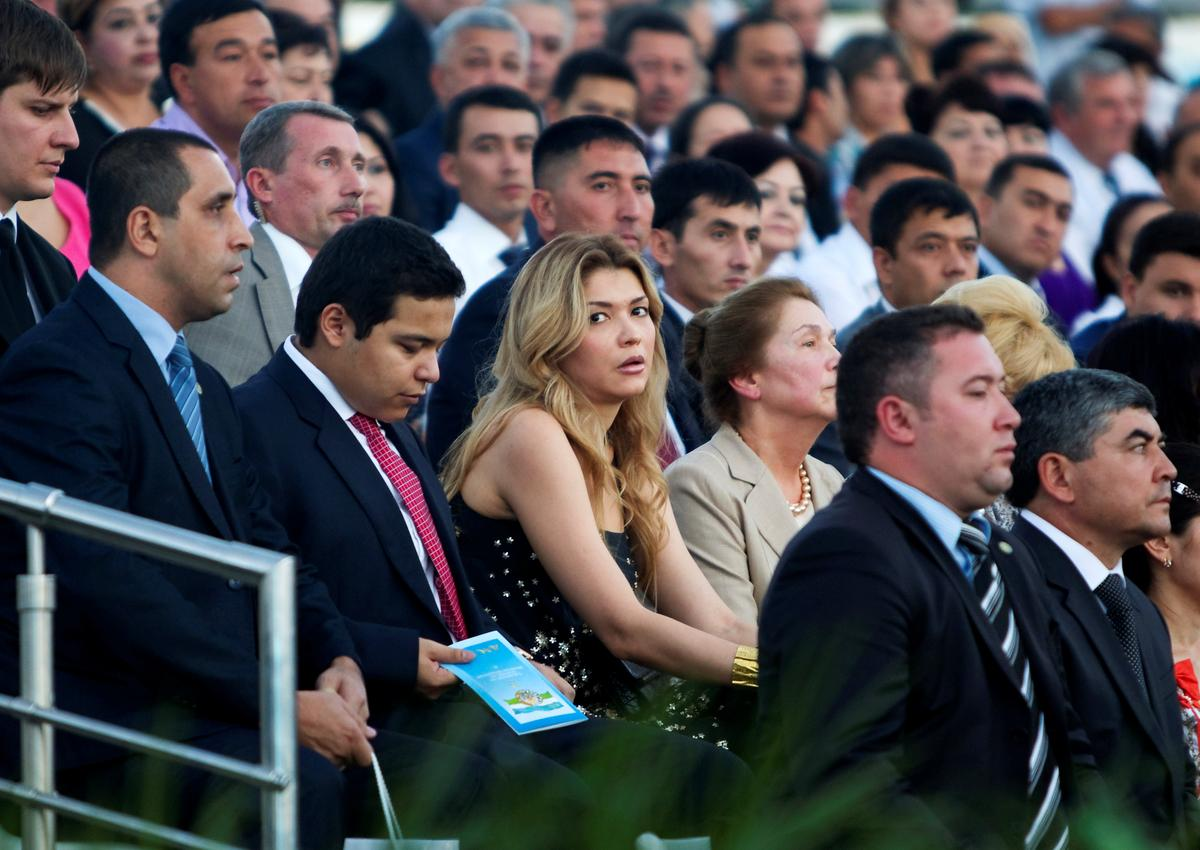 Late Uzbek leader's daughter asks his successor for clemency