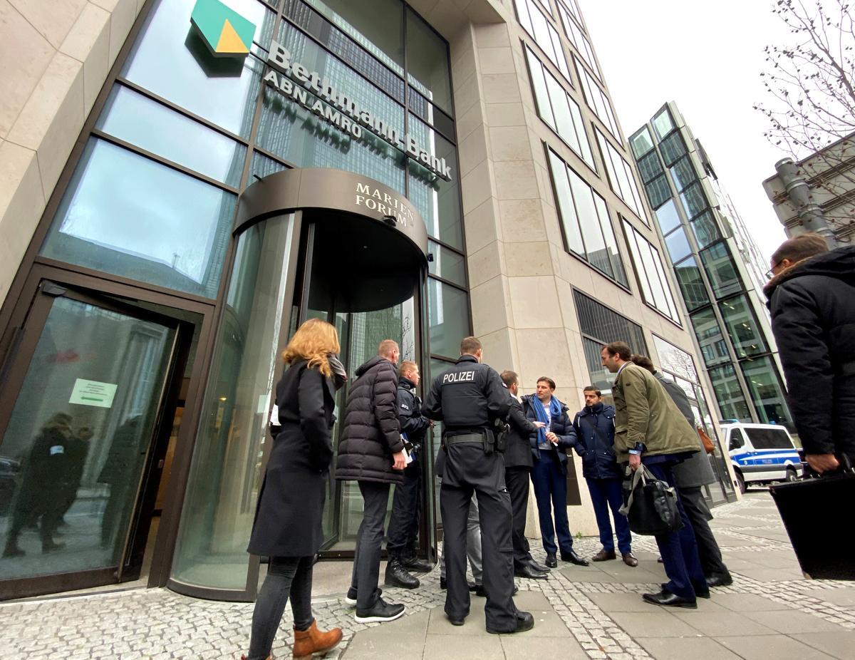 German prosecutors confirm raid at ABN Amro in Frankfurt over dividend stripping