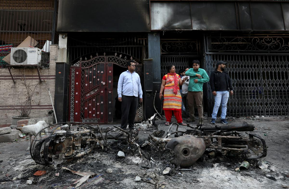 A Delhi neighborhood divided by a highway and now hatred