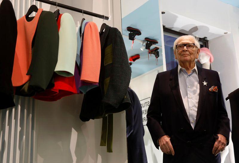 At 97, designer Cardin is still seeking fashion's next trendsetter