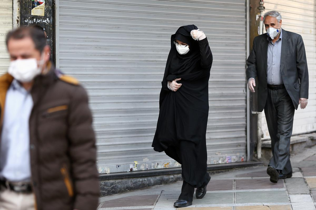 Iran's coronavirus death toll rises to 43, with 593 people infected