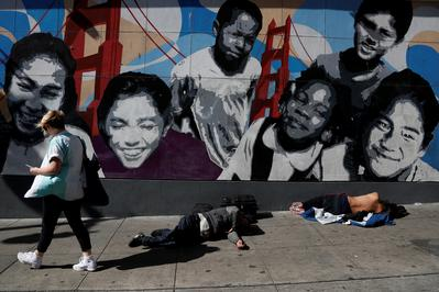San Francisco's homeless vote on Super Tuesday