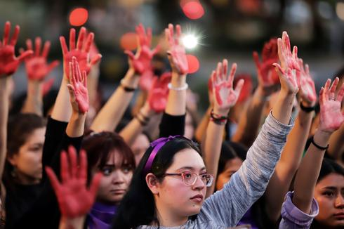 Mexico's women protest gender violence