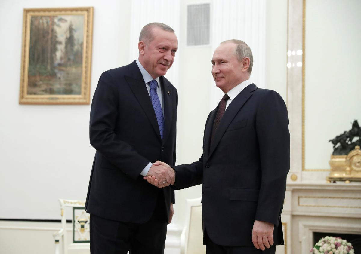 Russia's Putin says agreed deal with Turkey's Erdogan that lays ground for Syria ceasefire