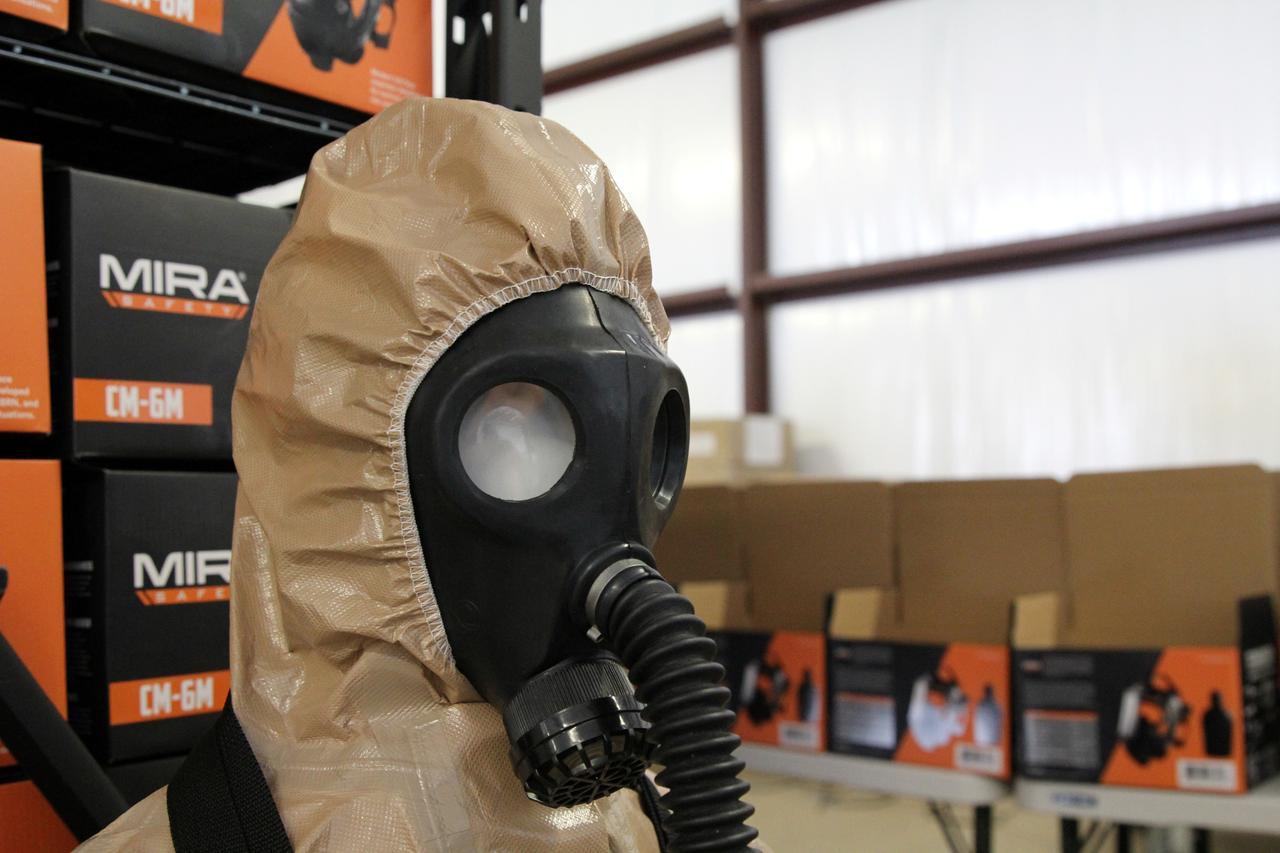 hazmat mask virus