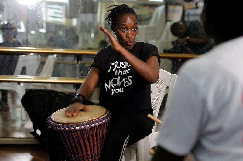 Marching to the beat of her own drum: Kenyan breaks gender taboo