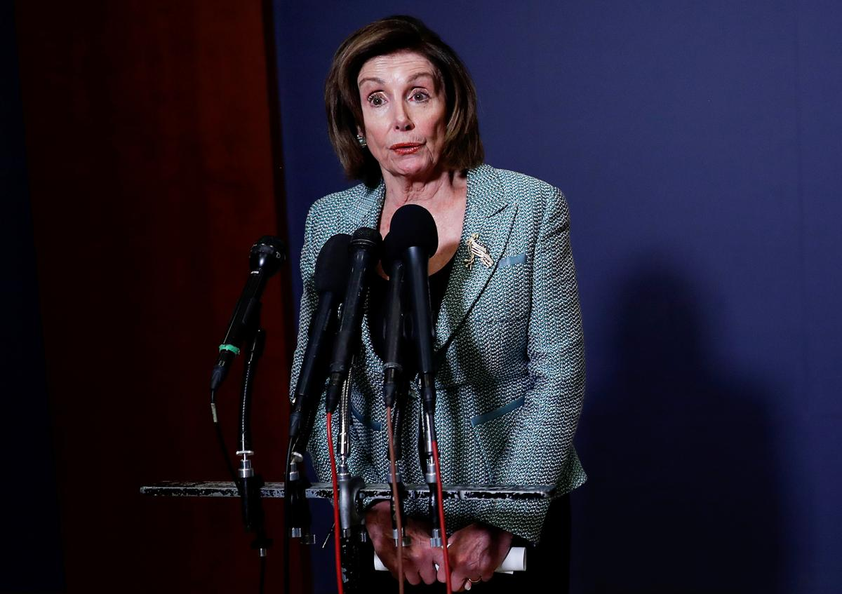 Pelosi to deliver statement on coronavirus economic relief bill Friday afternoon