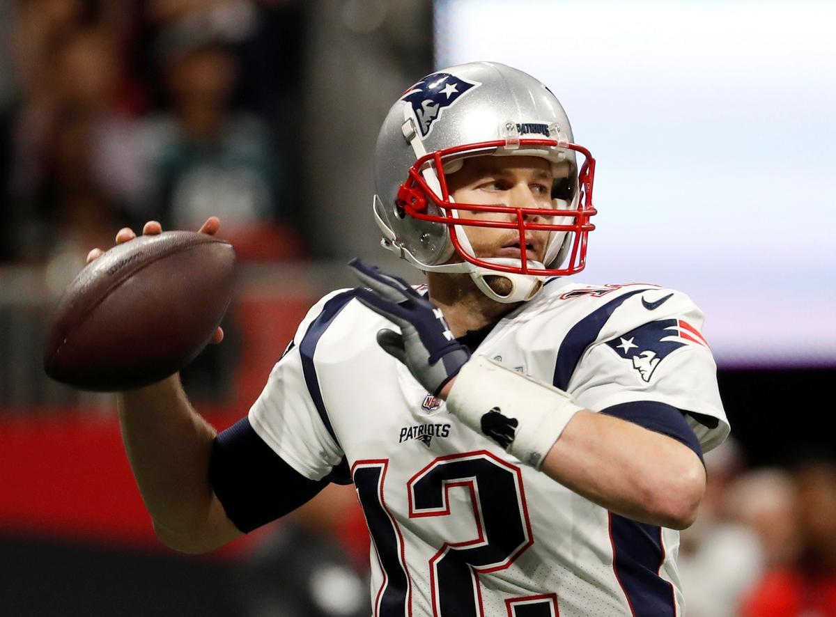 Quarterback Tom Brady says he is leaving the New England Patriots