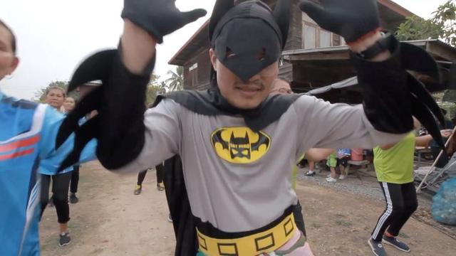 Corona Corona Thai Batman Fights Virus With Catchy Tune Reuters