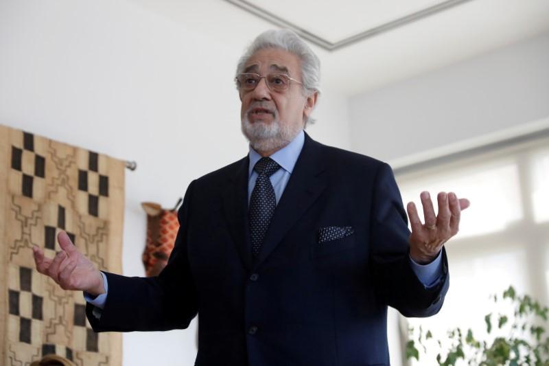Spanish opera singer Placido Domingo tests positive for coronavirus