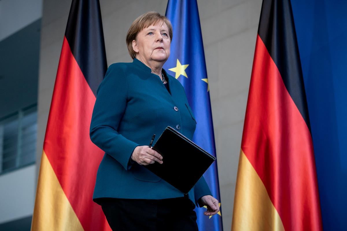 Merkel is well, awaiting coronavirus test result: spokesman
