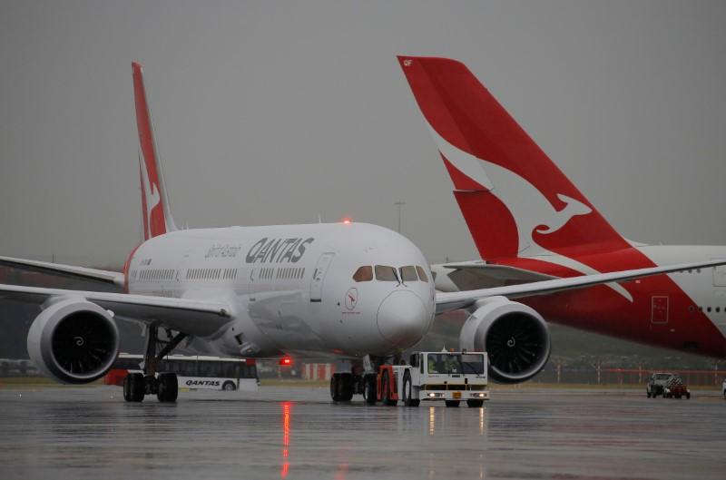 Qantas shares soar on financing deal as rivals cut more capacity