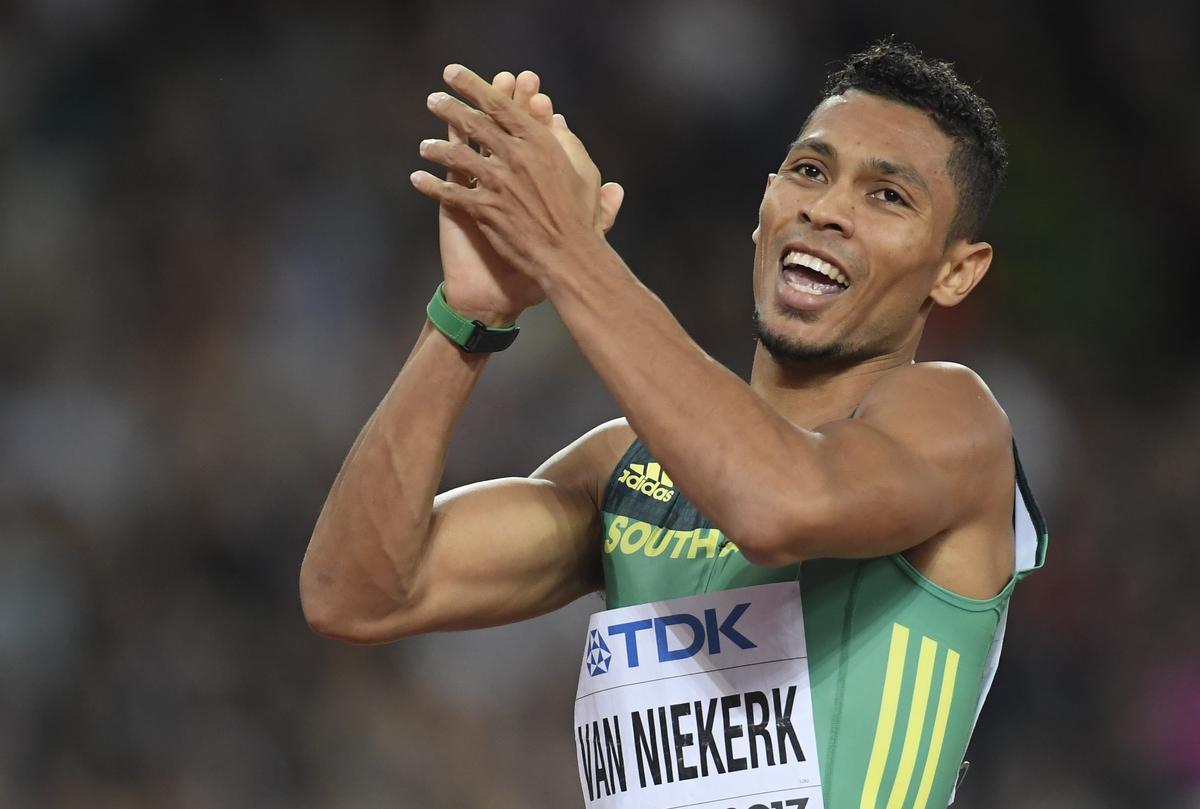 Van Niekerk looks for positives in Tokyo postponement
