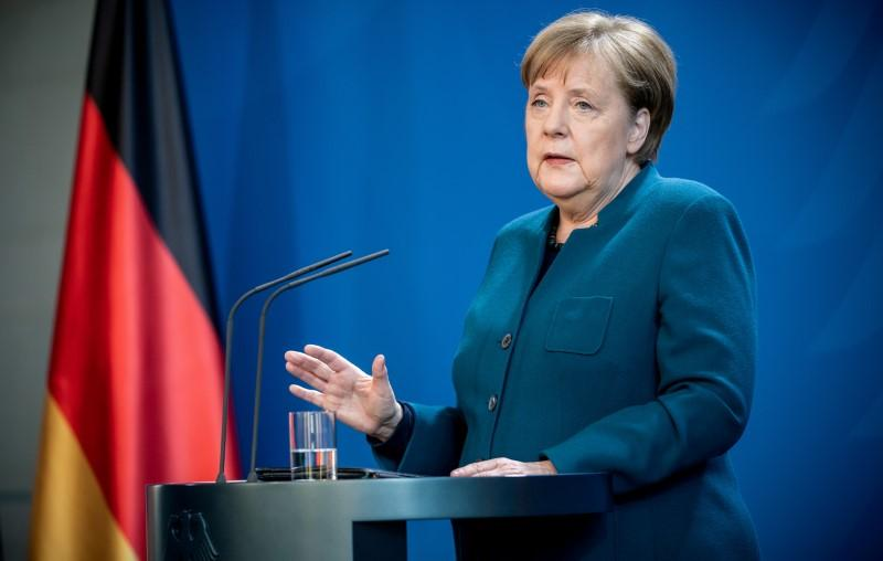 Merkel is healthy and in constant contact with cabinet: spokesman