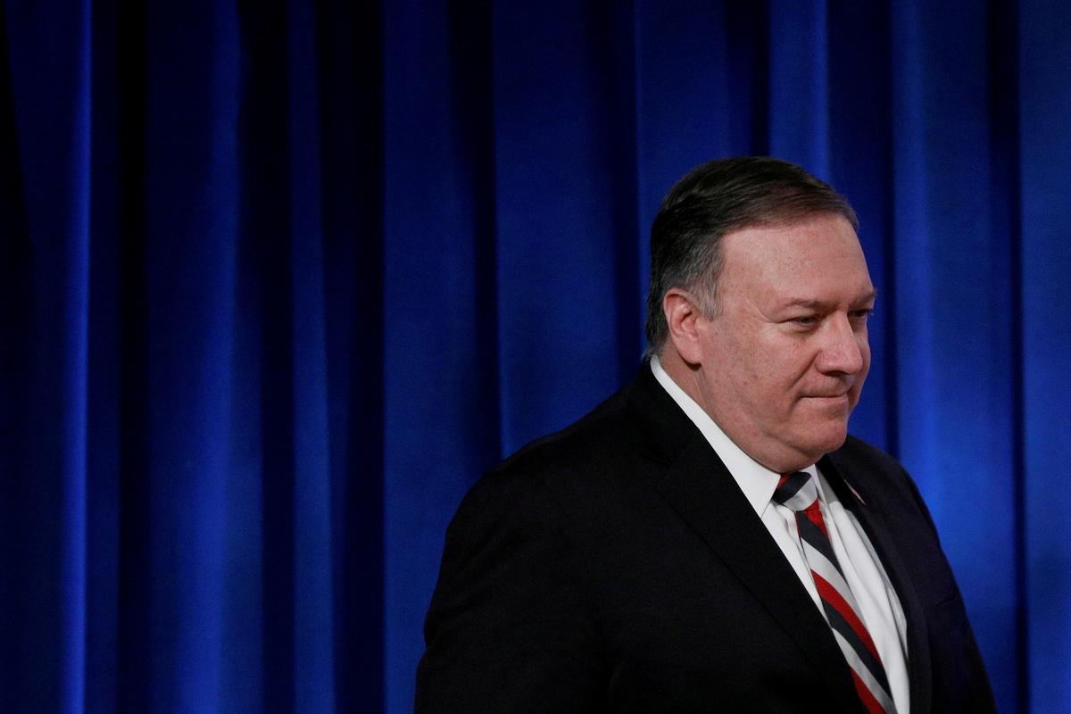 Pompeo says G7 discussed China's coronavirus 'disinformation'