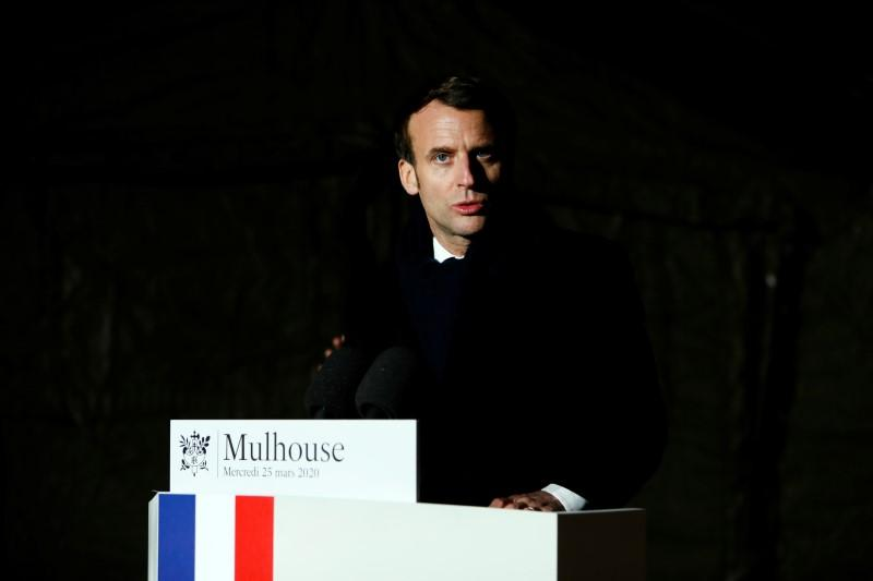 France's Macron pledges massive investment in health system after virus crisis
