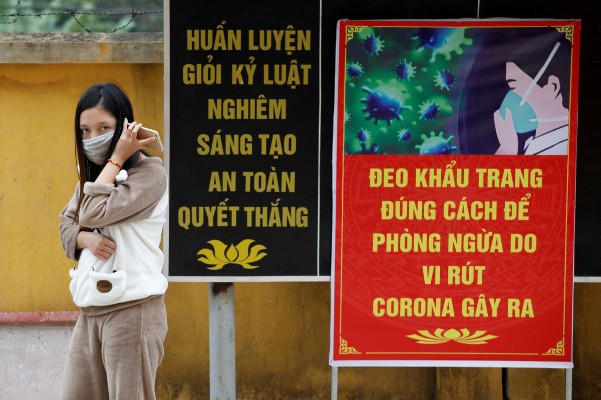 Vietnam quarantines tens of thousands in camps amid vigorous attack on coronavirus