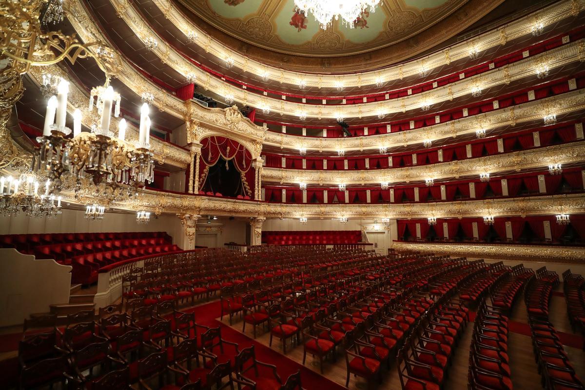 Russia's Bolshoi Theater goes online as coronavirus curbs public life