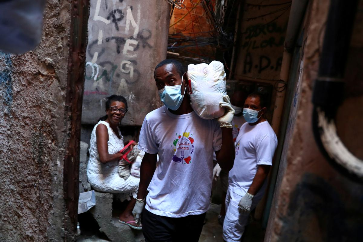 Brazilian rapper warns of coronavirus danger in Brazil's slums