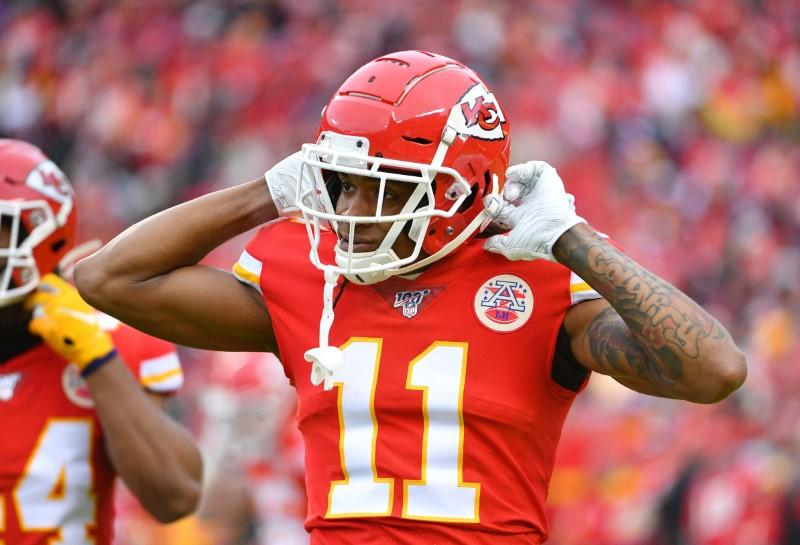 NFL notebook: WR Robinson to re-sign with Chiefs