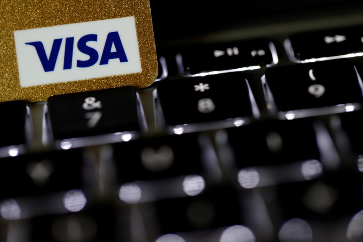 Visa transaction volumes hurt as coronavirus crisis deepens