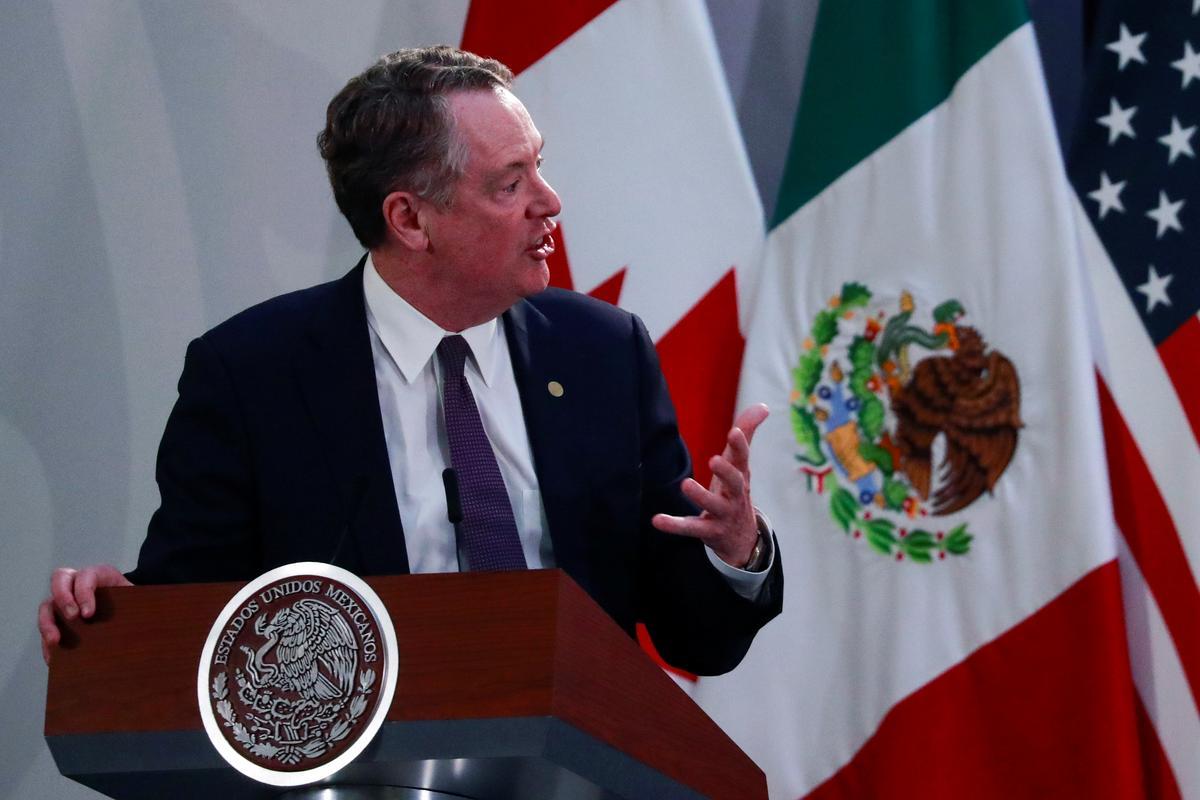 Coronavirus shows U.S. too dependent on cheap medical imports, USTR says