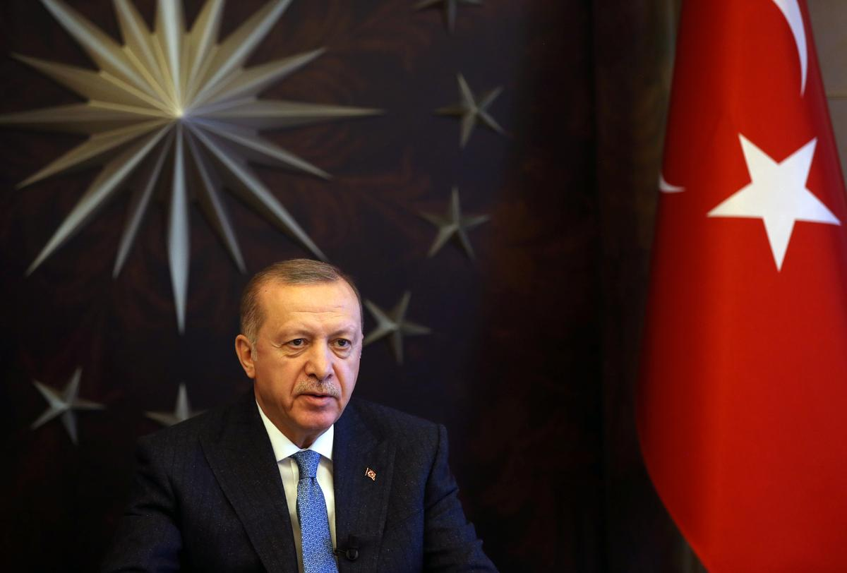 Erdogan says Turkey may tighten measures if 'voluntary quarantine' ignored