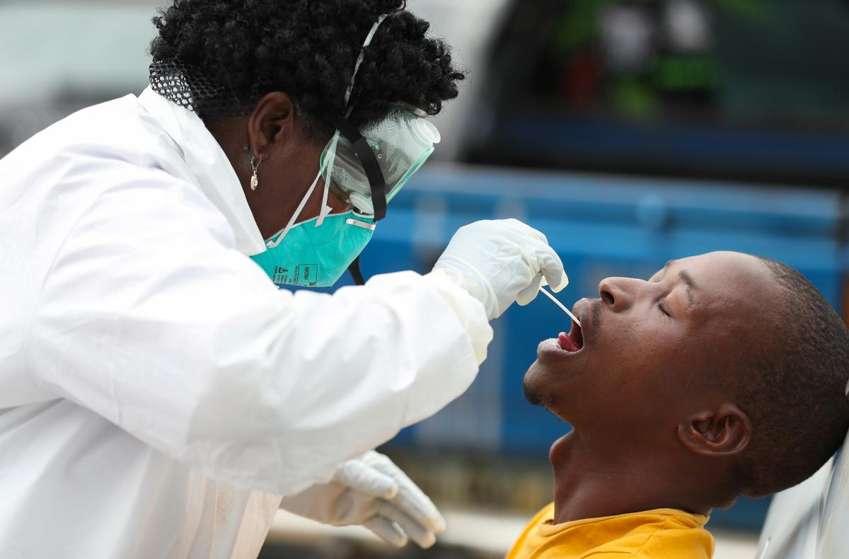 South Africa sends testing teams into townships to contain coronavirus