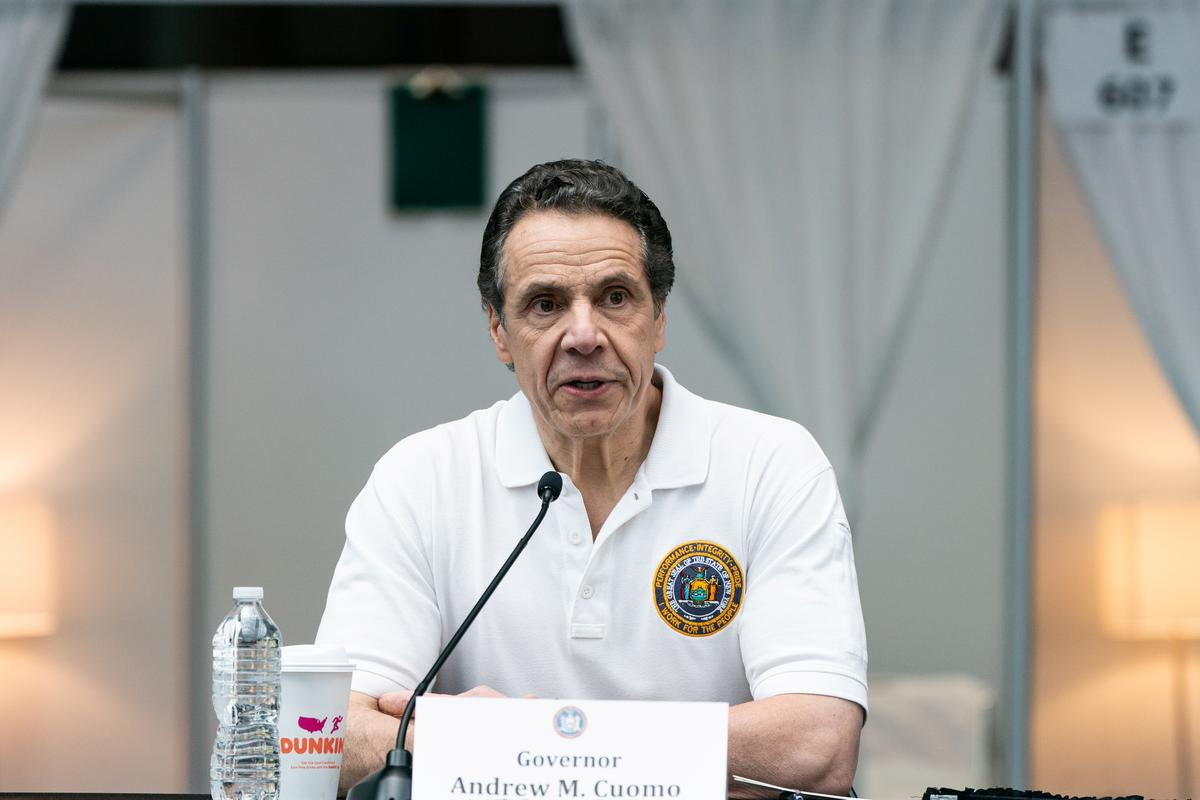 New York Governor Cuomo says will close down New York City playgrounds
