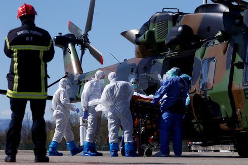 Coronavirus sweeps across France