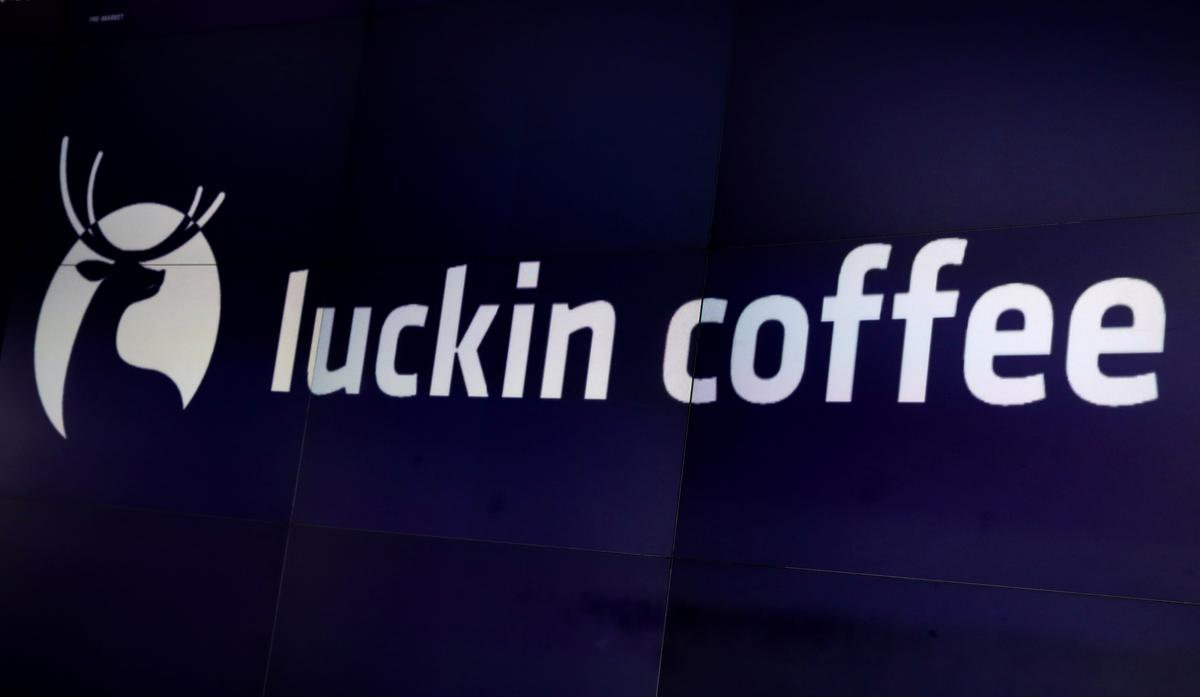Luckin Coffee shares sink after COO accused of financial misconduct