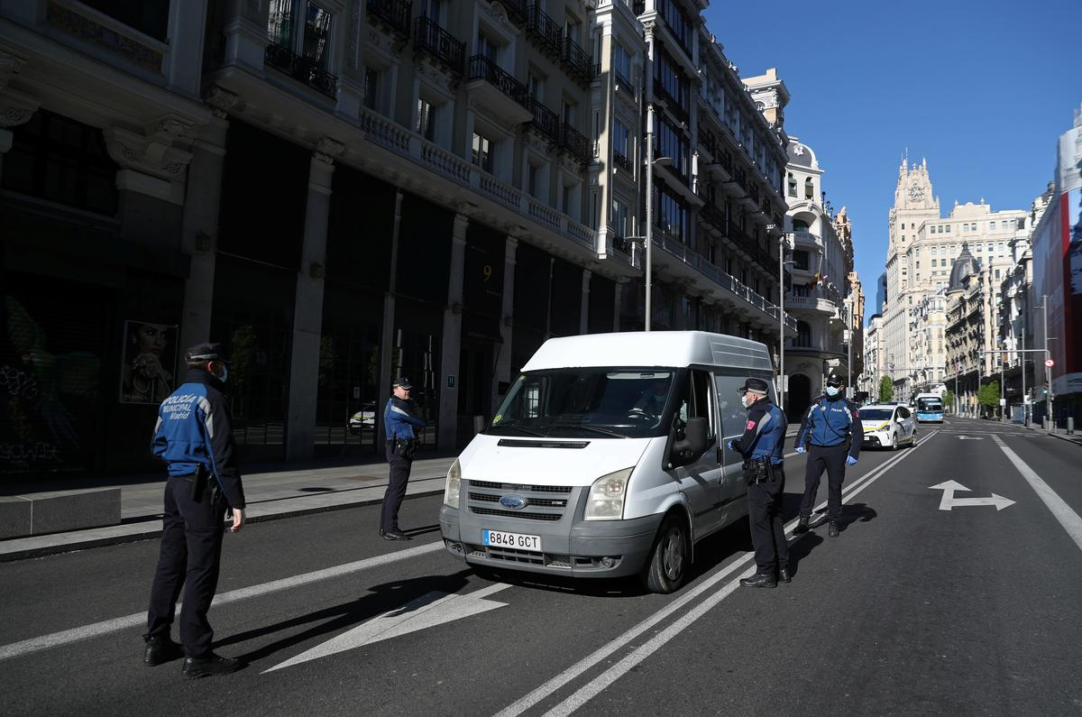 Spain's Daily Death Toll FALLS for Second Day in Row