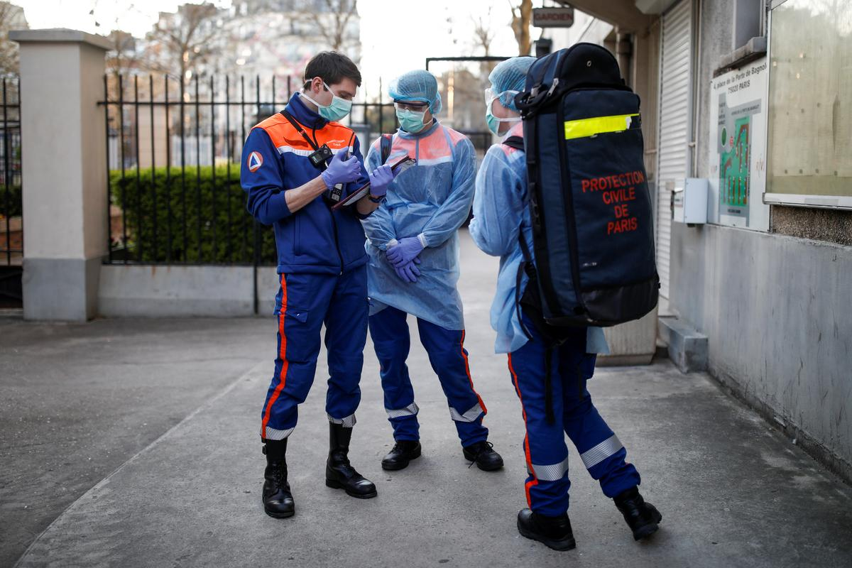 France's death toll slows but coronavirus still hits hard