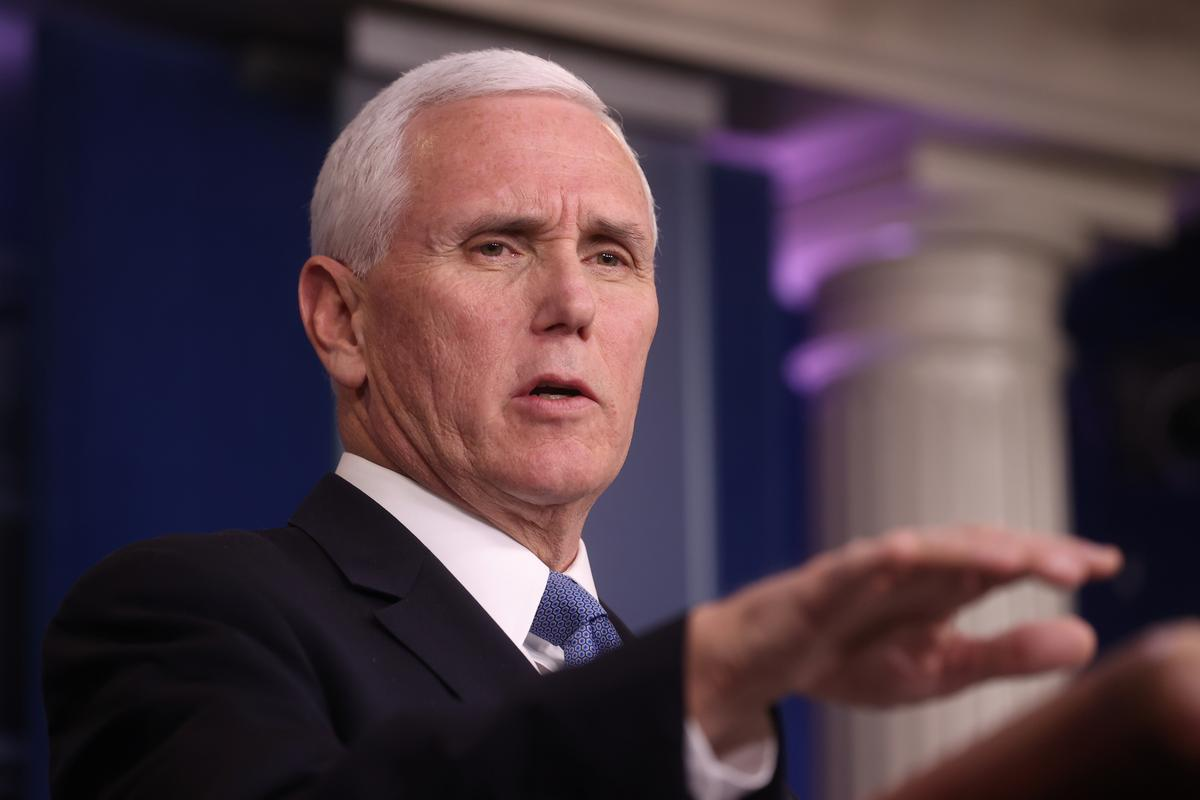 Vice President Pence to brief U.S. lawmakers on coronavirus