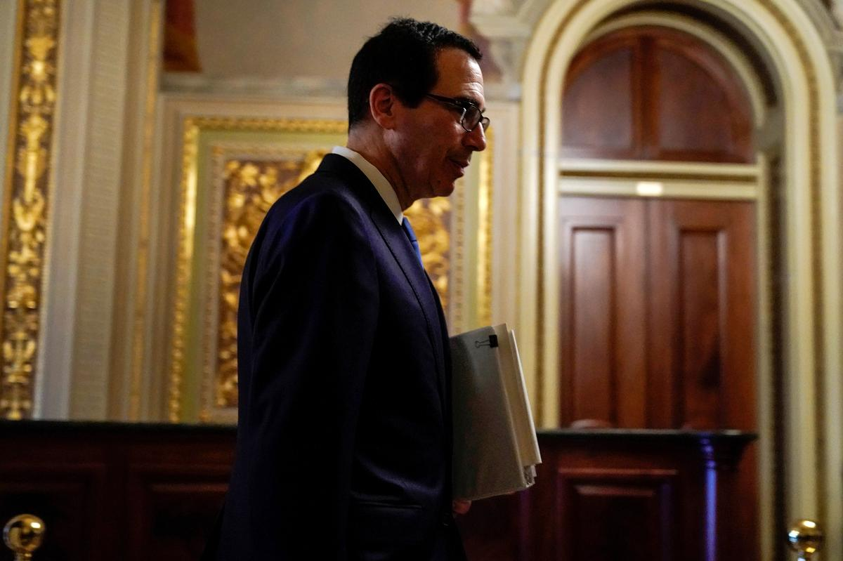 Trump administration seeks $250 billion more in aid for small U.S. businesses: Mnuchin