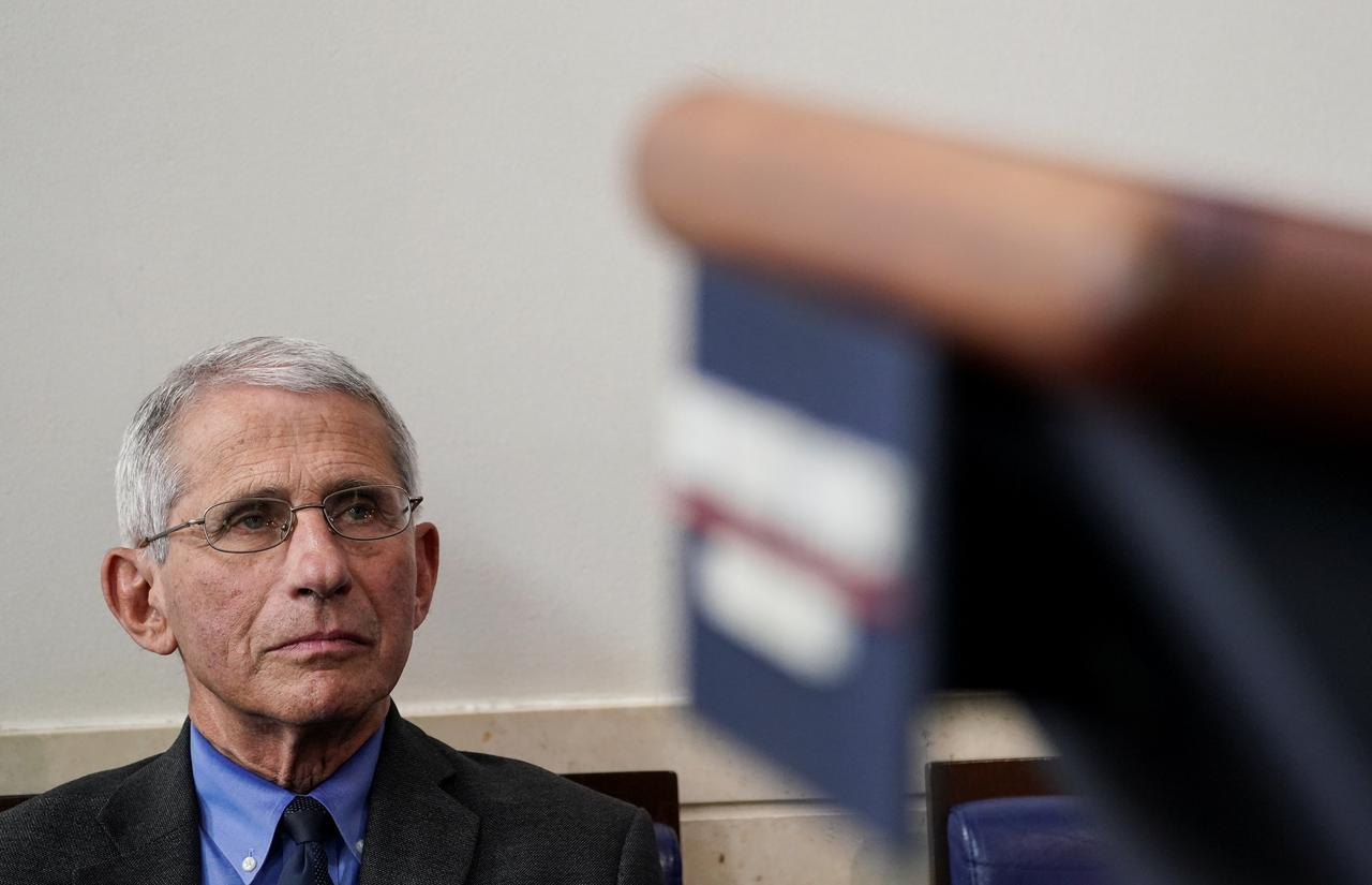 Dr. Fauci Rebukes Trump's for Comparing Coronavirus and the Flu