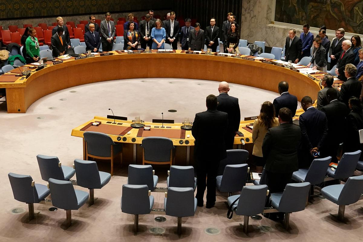 U.N. Security Council meets over coronavirus as it struggles to act