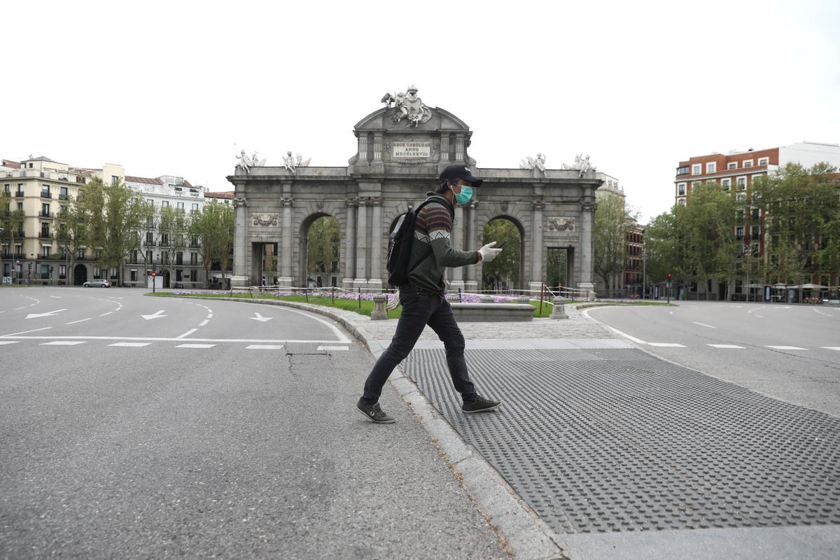 Spain's coronavirus death toll curve flattening at last