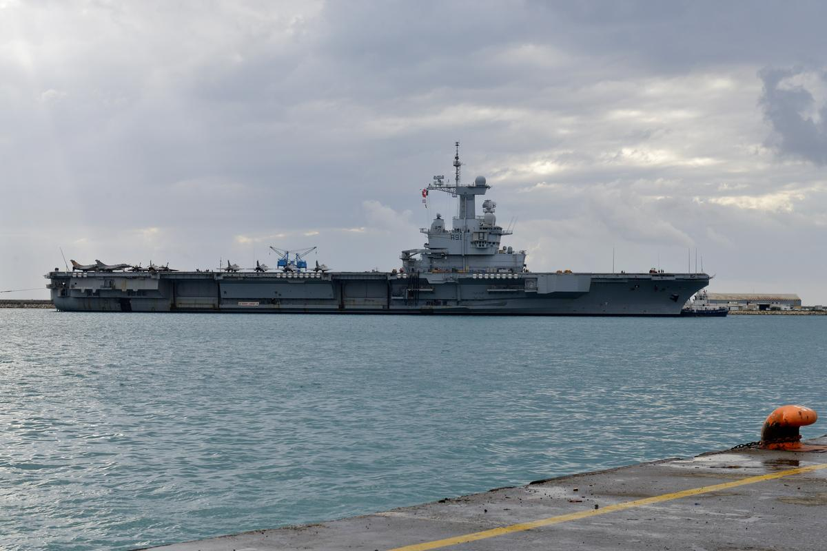 France reports 50 COVID-19 cases aboard aircraft carrier