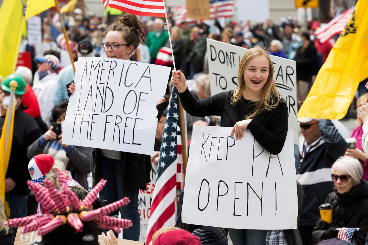 Facebook removes anti-quarantine protest events in some U.S. states