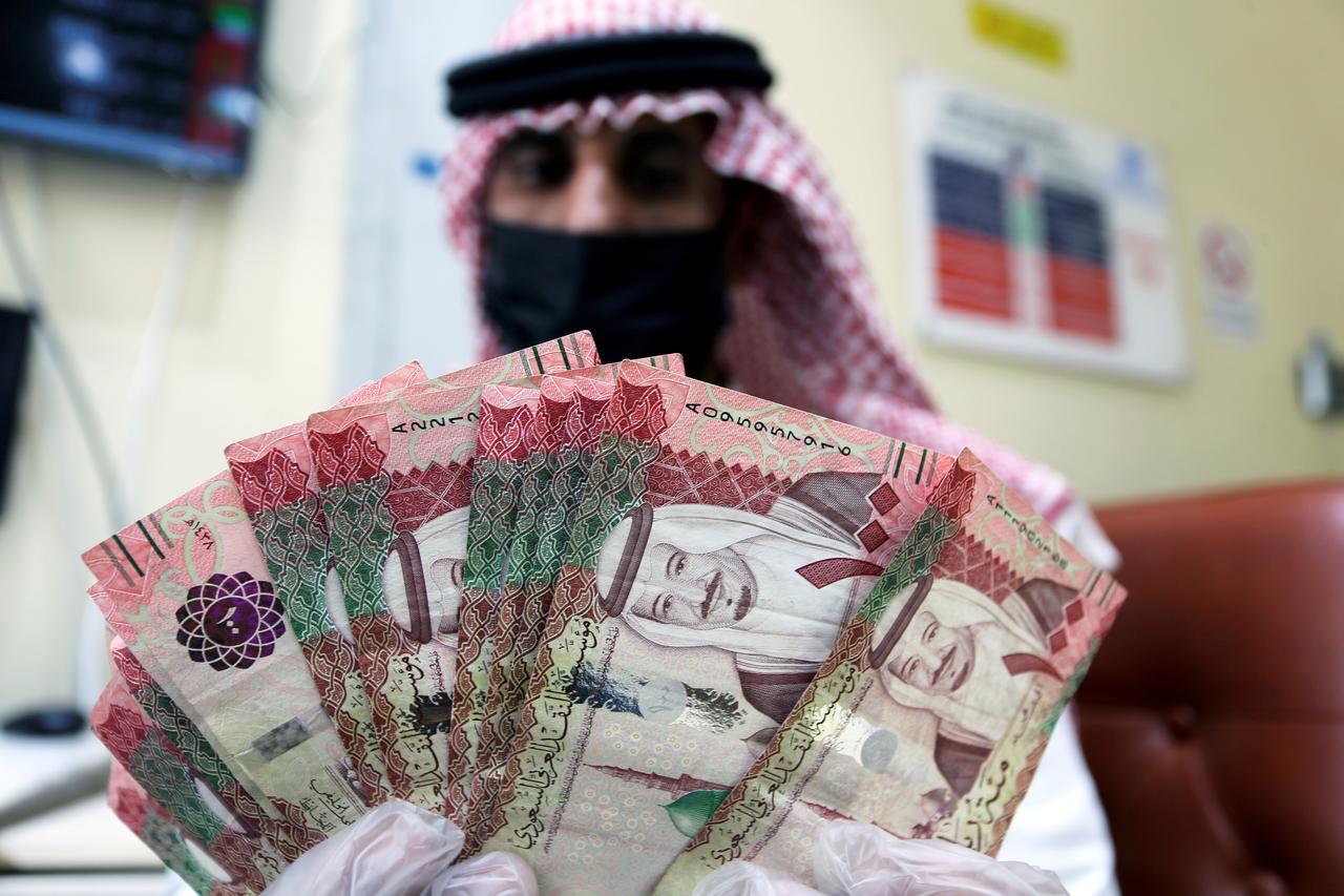 U S Dollar Jumps Vs Saudi Riyal In