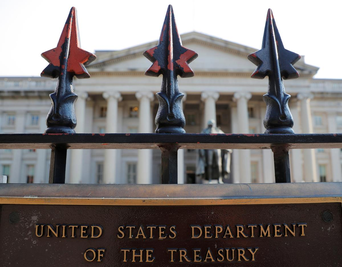 U.S. Treasury says will be hard for public companies to qualify for coronavirus relief loans