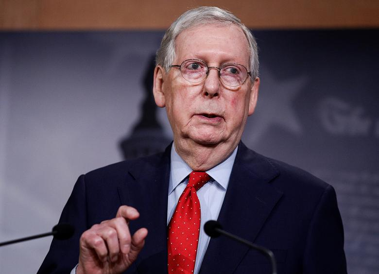 Mitch McConnell Says He Would 'Absolutely' Support Trump if He Won 2024 Republican Nomination