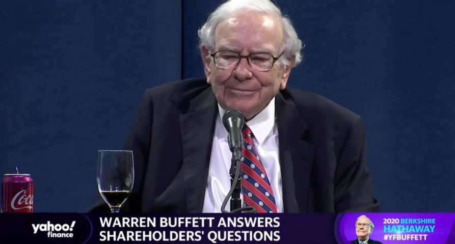 Warren Buffett says the coronavirus cannot stop America, or Berkshire Hathaway