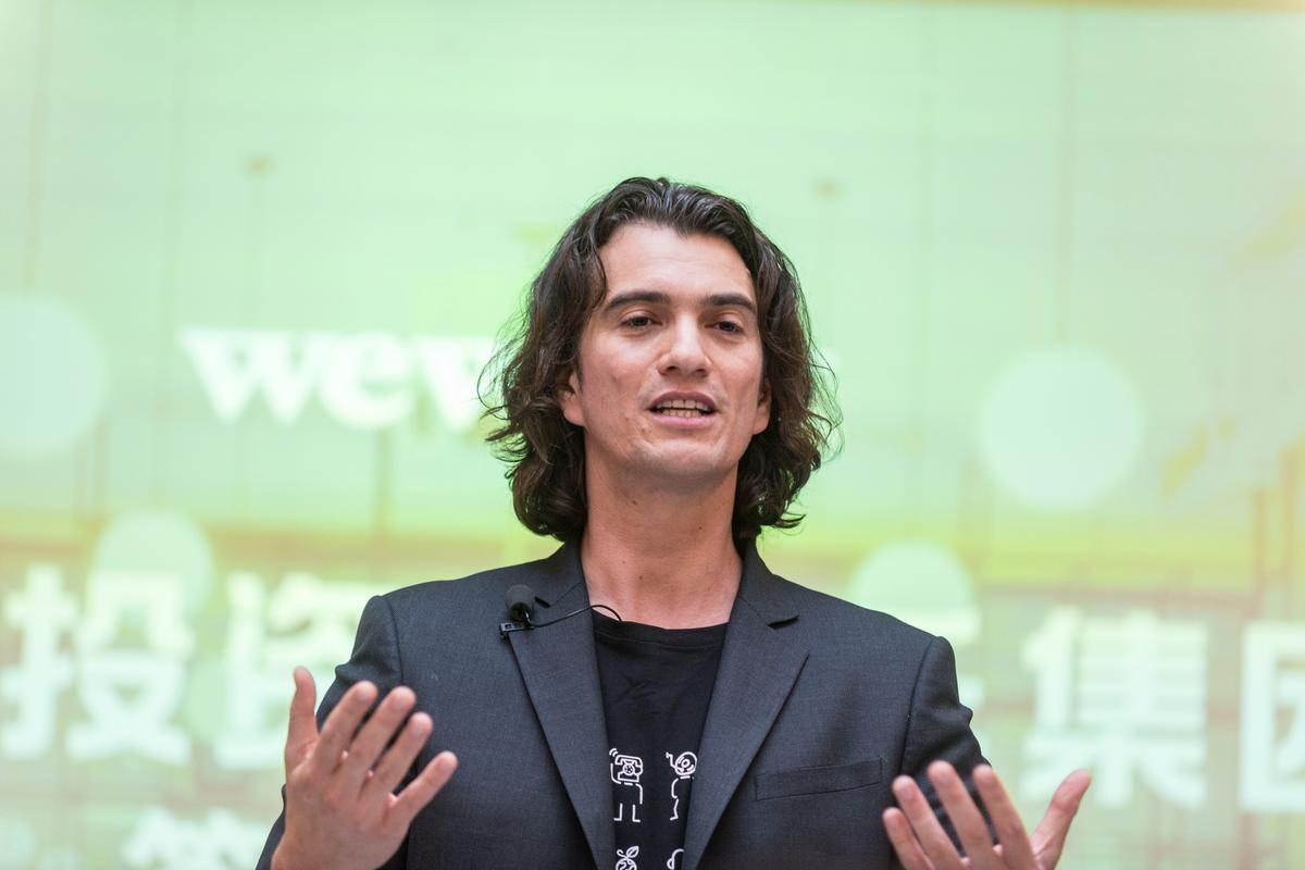 WeWork co-founder Neumann sues SoftBank over failed tender offer